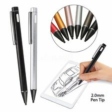 2.0mm Rechargeable Touch Active Stylus Drawing Pens Pen For iPad Android Tablet