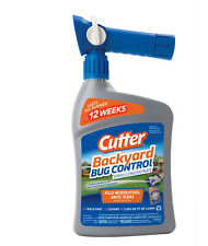 Cutter Backyard Bug Control 32 oz Ready to Spray Hose End Insect Repellent