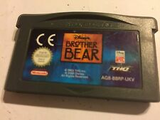 Nintendo game boy gameboy advance GBA SP + micro Disney's Brother Bear