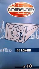 DL32 - 10 Sacchetti De Longhi Colombina XLF1500 - 1600 XLC6050 adattabili