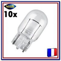 """10 Ampoules Vega® """"Maxi"""" W21W T20 WX3x16d 12065 Arrière Stop Recul Frein 12V"""
