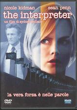 THE INTERPRETER - DVD (USATO EX RENTAL)