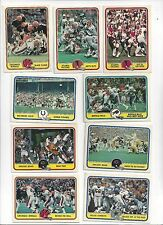 1981 Fleer Football you pick commons 10 picks for $2.00  EX cond. and better