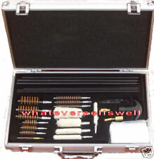 DELUXE UNIVERSAL GUN CLEANING KIT shotgun pistol rifle