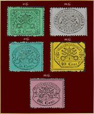 (x)/x Italien Kirchenstaat Vatikan 1868  Lot 2..80 Cent.