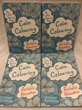 More Calm Colouring Book Gift Anxiety Stress Symptom Relief Reliever