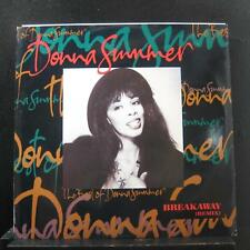 "Donna Summer - Breakaway (Remix) 12"" Mint- U 3308 UK 1991 Vinyl Record"