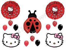 HELLO KITTY LADYBUG Birthday Party Balloons Decoration Supplies Polka Dot