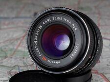 red MC FLEKTOGON 2.4/35 M42 mount lens CARL ZEISS JENA DDR