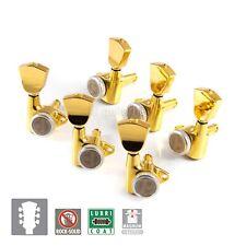 NEW Gotoh SG301-04 MGT MAGNUM-LOCK TRAD Set Keystone Keys Locking 3x3 - GOLD