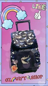Smiggle Shark Trolley Backpack - Brand New Ideal For School