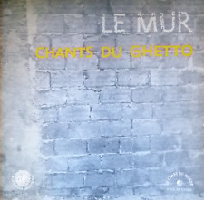 yiddish jewish holocaust LP-le mur-HOROWITZ, KARIN ,ATLAS- songs of the ghetto