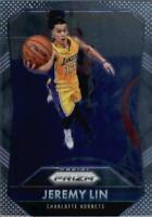 2015-16 Panini Prizm Charlotte Hornets Basketball Card #20 Jeremy Lin