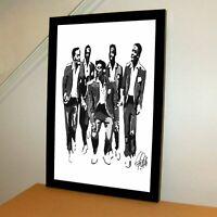 The Temptations David Ruffin Soul Music Poster Print Wall Art 11x17