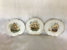 """New ListingThree decorative ship plates hangers included 7 9/16"""" w"""