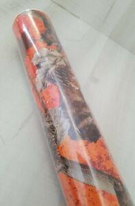 Holiday Time Premium Heavyweight Gift Wrap fall leaves Single Roll 70 SQFT 7YD