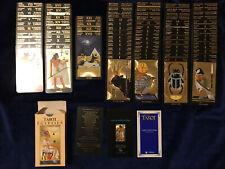 Tarot Egyptien 78 cartes dorées Fabbri # Cartomancie Voyance Divinatoire