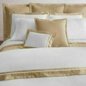 Ralph Lauren Home Bowery Polished Bronze King Pillow Sham retail $145