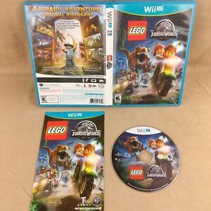 Nintendo Wii U Lego Jurassic World - Tested & Working