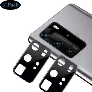 2X 3D Schutzglas Glasfolie Kamera Linse für Huawei P40 Pro Panzerfolie Curved 9H