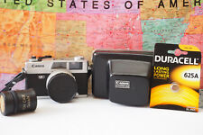 Canon Canonet QL17 W/ 40mm 1:1.7 Lens WORKS TESTED