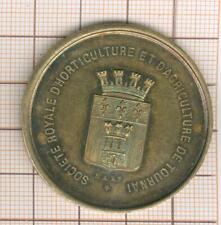 Tournai jolie médaille argent (?) vermeil (?) exposition jubilaire 1894