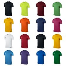 Nike T Shirt Mens Football Top Gym Sports Size S M L XL XXL Black Blue White New
