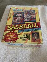 1991 Donruss Baseball ~ Series 1 Card Wax Box ~Unopened 36 Factory Sealed Packs