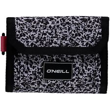 REDUCED O'NEILL MENS WALLET.NEW POCKETBOOK TRIFOLD BLACK MONEY NOTE CARD 8W 222