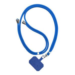 Mobile Phone Lanyard Holder Crossbody Strap Nylon Patch Hands-free Anti-lost