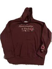 Abercrombie Kids Girls 11/12 Burgundy Hoodie