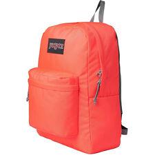 New Jansport Black Label Superbreak Student Backpack Tahitian Orange TWK80D5