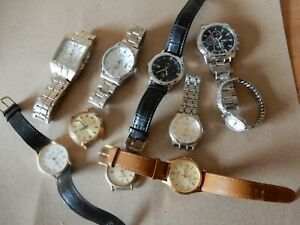 10 Wristwatches watches
