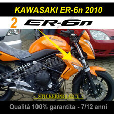 Set 2 Adesivi KAWASAKI ER-6N 2010 Stickers Decal Moto