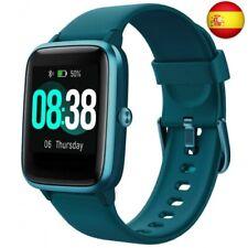 YONMIG Reloj Inteligente Mujer y Hombre, Smartwatch Impermeable IP68  (Verde)