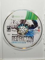 Red Faction Armageddon (Microsoft Xbox 360, 2011) Disc only