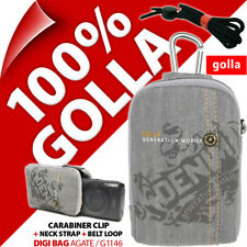 Golla Universell Kompaktkamera Tasche Grau für Canon Sony Fuji Samsung
