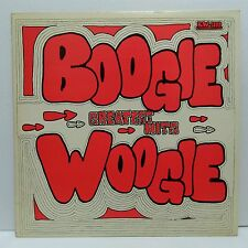 V/A Boogie Woogie Greatest Hits LP vinyl record private press  Ammons  / Lofton