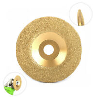 3 Inch Diamond Coated Grinding Disc Wheel For Grinding Hard Alloy 10mm Thickness