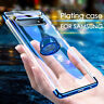Soft TPU Magnetic Stand Clear Case Phone Cover For Samsung Galaxy S10 Plus A70