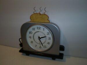 "Beautiful 10"" H x 9"" W Toaster Wall Clock By InFormals"