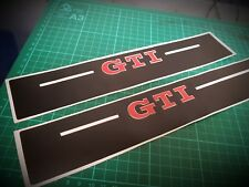 VW Golf Mk7 & MK6 GTI 5 Door Sill Protector Graphics Thick High quality Vinyl