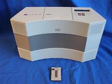 New listing Refurbished Bose Acoustic Wave Music System Cd3000 Am/Fm Cd Player Platinum