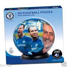 Chelsea f c - 3d Puzzle Ball Puzzle Puzzleball-Nuovissimo Sigillato Scatola!