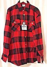 Rotho  Extra Heavyweight Brawny Buffalo Plaid Flannel Shirt Long Sleeve  size S