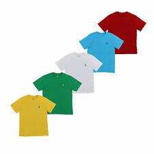 Polo Ralph Lauren Boys T-Shirt Crew Neck Kids Tee Pony Logo New Nwt S M L Xl Prl