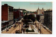 CANADA carte postale ancienne MONTREAL Victoria square