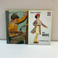 Ladybird Adult Books x2 Series 999 The Wife and Husband Matt Hardback