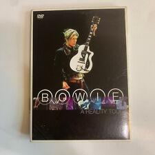 DAVID BOWIE A REALITY TOUR CONCERT DVD