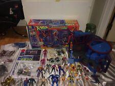 Toy Biz X-Men HEADQUARTERS playset BOX figures COMPLETE